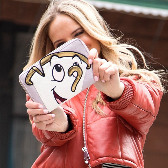 Danielle Nicole Beauty and the Beast Chip Wallet